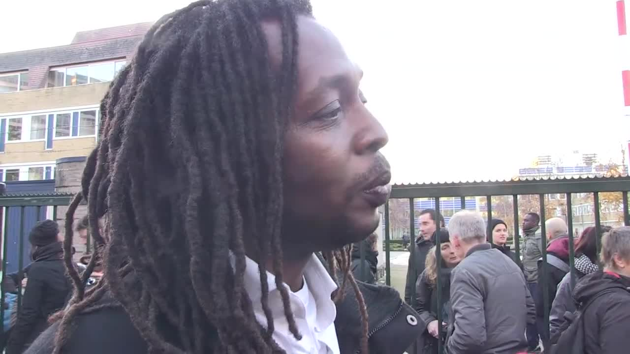 Video report: Eviction in Diemen