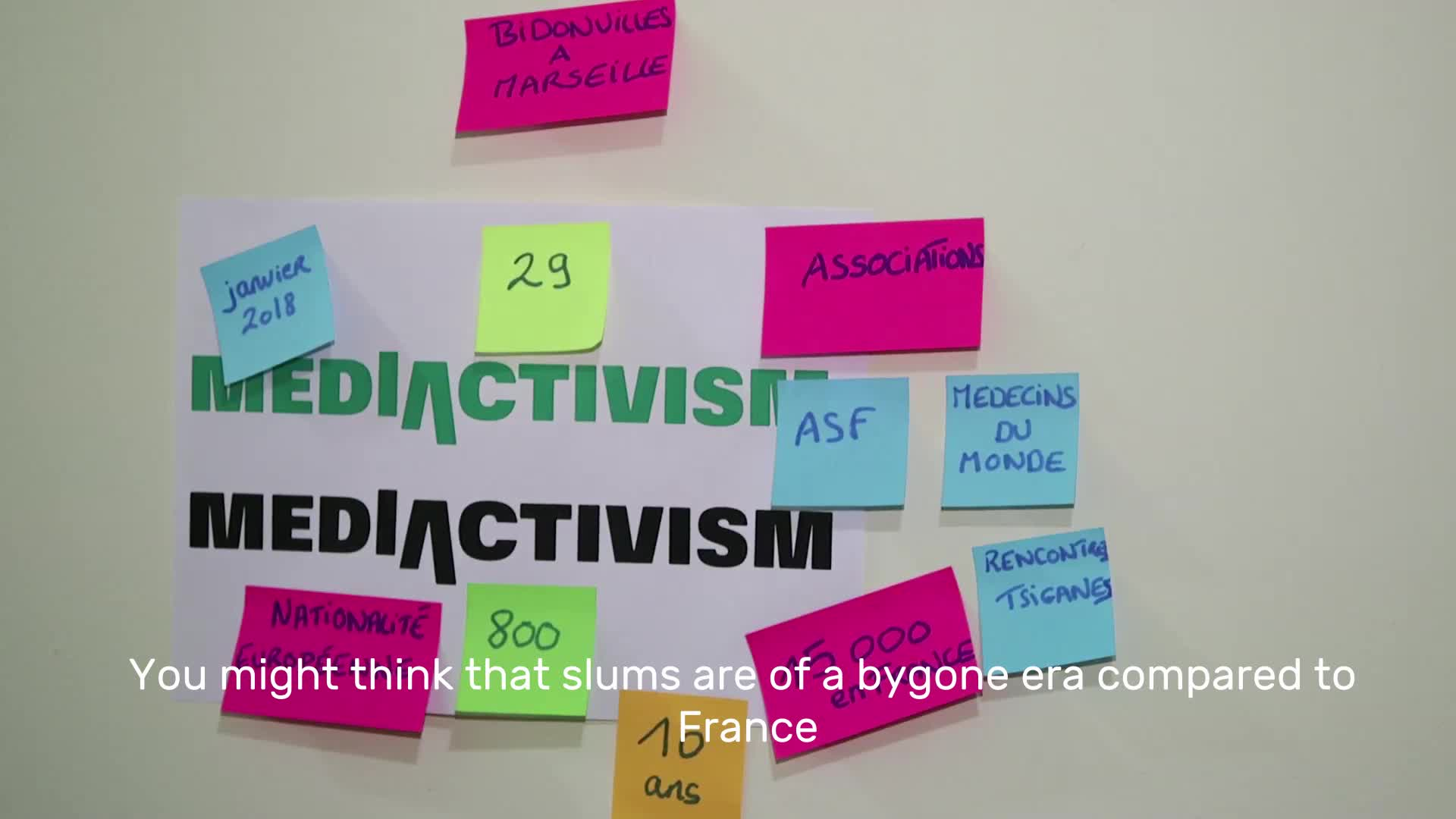 Mediactivism hackcamp in Marseille: Interview with Faustine Vieillot